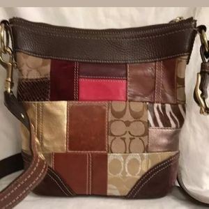 Coach G06Q-10435 (On Inside Tag) Brown Suede L
